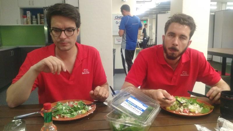 Beloola et la salade