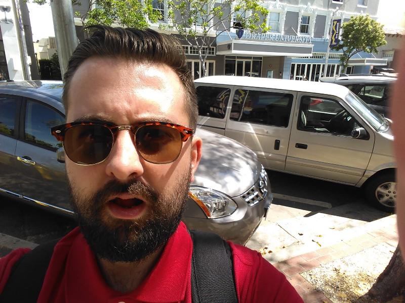 selfie Draper University